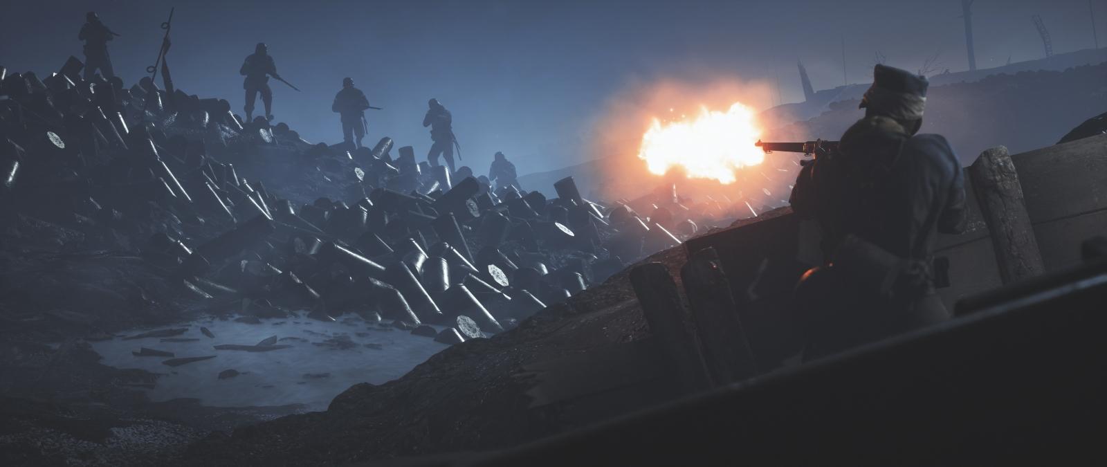 battlefield 1 7680x3240 fire enemy soldiers 4k 8k 9935