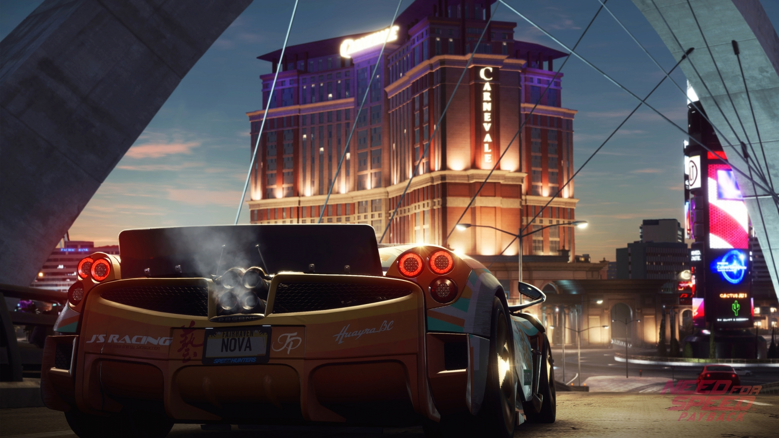 need For speed payback 3838x2160 racing game playstation 4 xbox One 10271