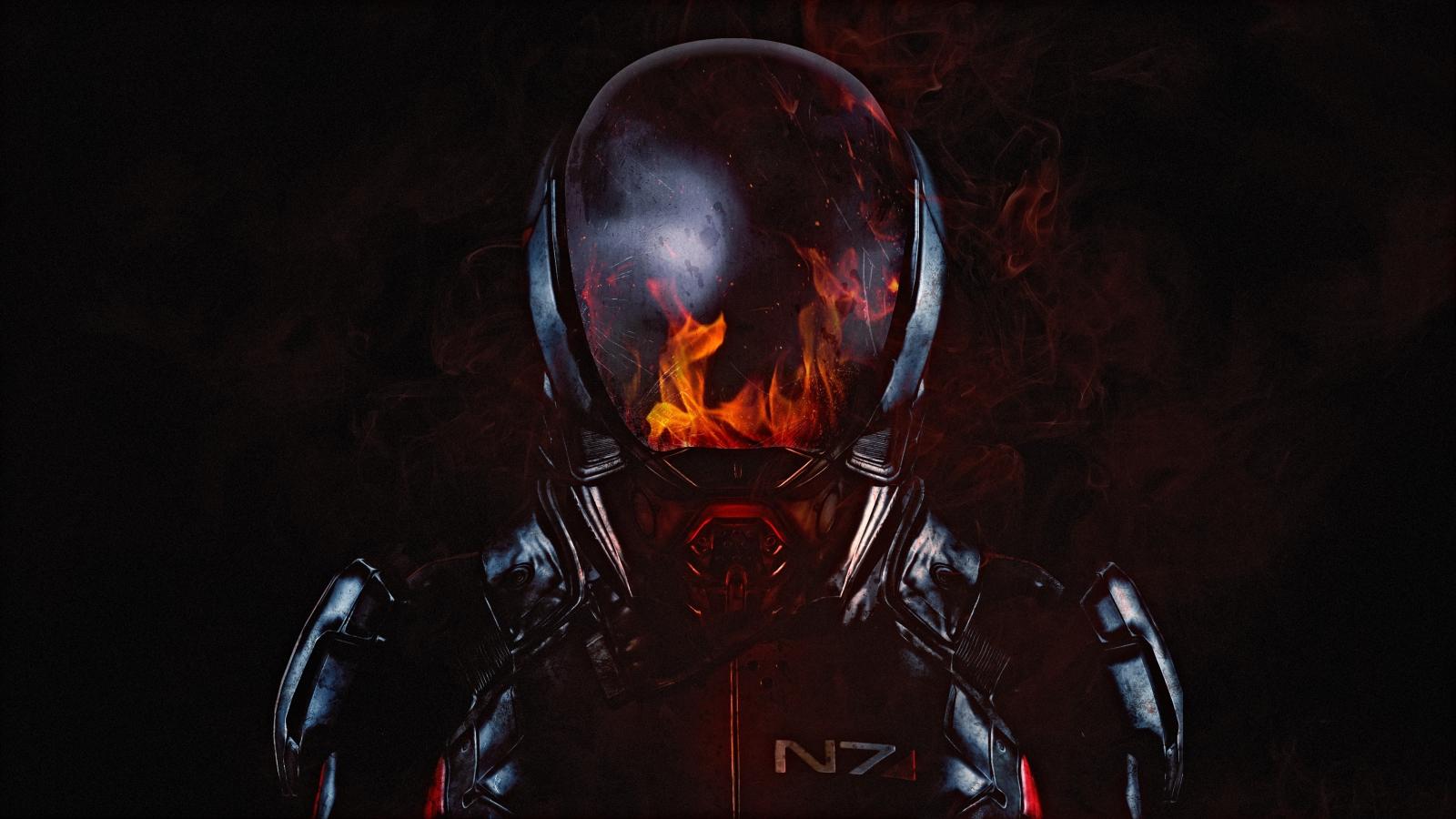 N7 armor 3840x2160 mass effect andromeda 4k 10315